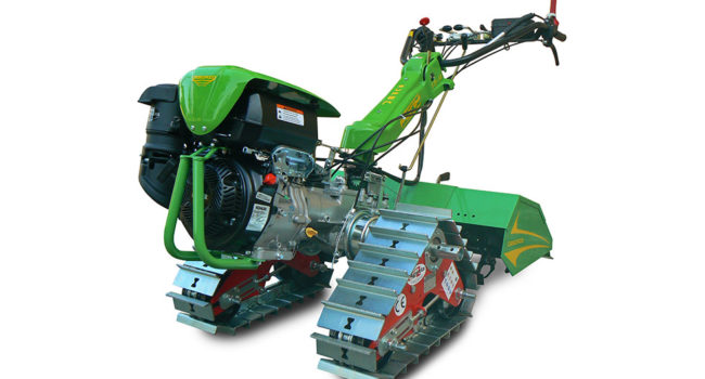 Crawler Tracks for Walking Tractor