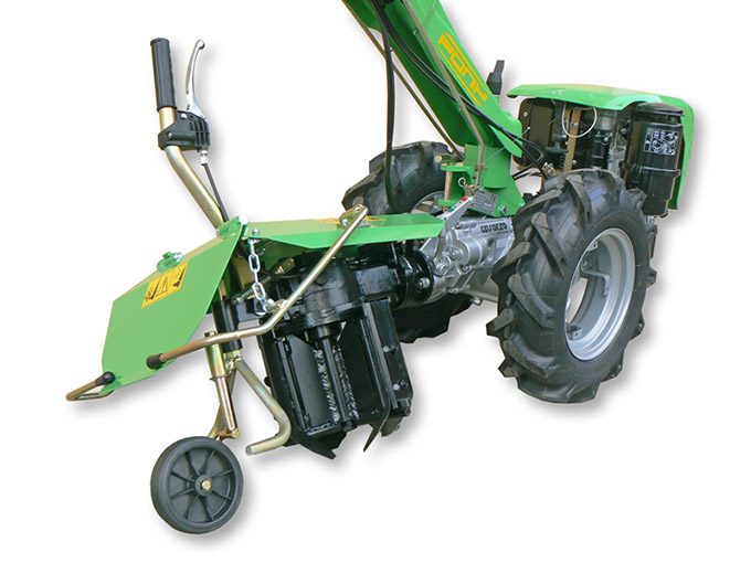 Walking Tractor Pony 15-R Vertical axis rotary plow