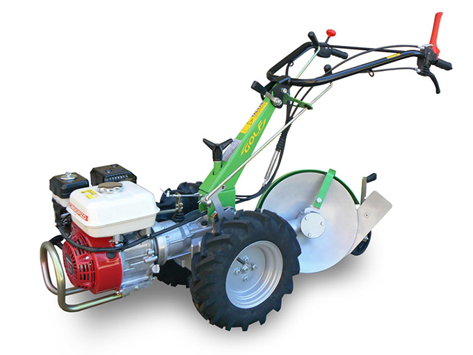 Walking Tractor Golf 2+2 Rotary Plough