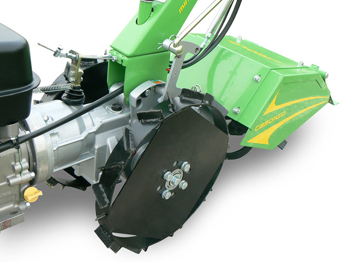 Walking Tractor Golf 2+2 Iron wheels