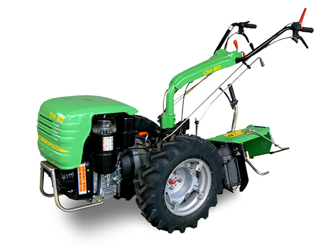 Walking Tractor CM80 lombardini diesel Casorzo With reversible rotary plow