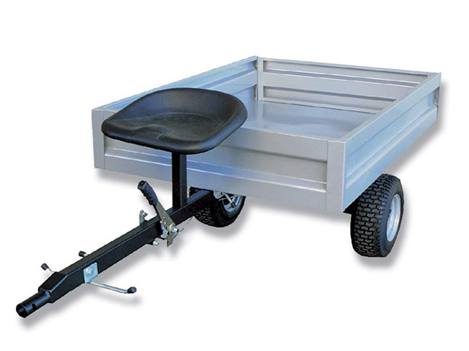 Walking Tractor CM80 Casorzo Trailer for powerboats