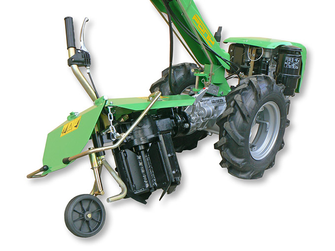 Vertical Axis Rotary Plough double rotation