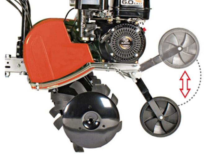 Motor Hoe CU20 Transfer wheel