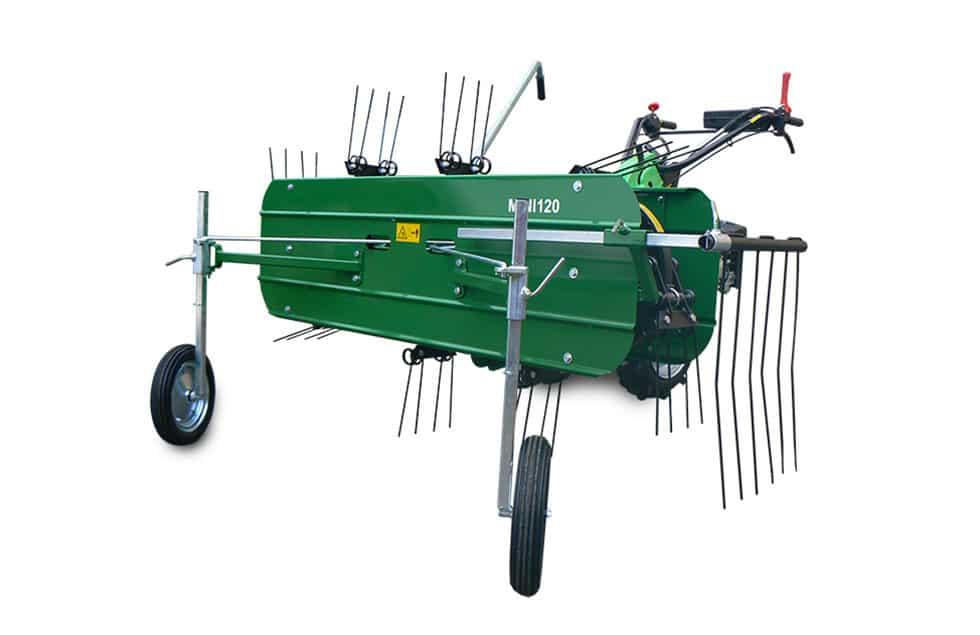 Fotografia ranghinatore per motocoltivatore e motofalciatrici di Casorzo Macchine Agricole