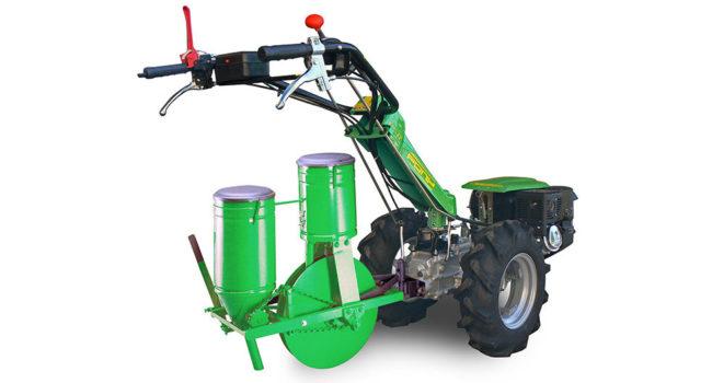 Seminatrice con spandiconcime di Casorzo Macchine Agricole