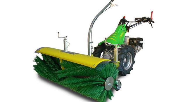 Fotografia della spazzolatrice a rullo di Casorzo Macchine Agricole
