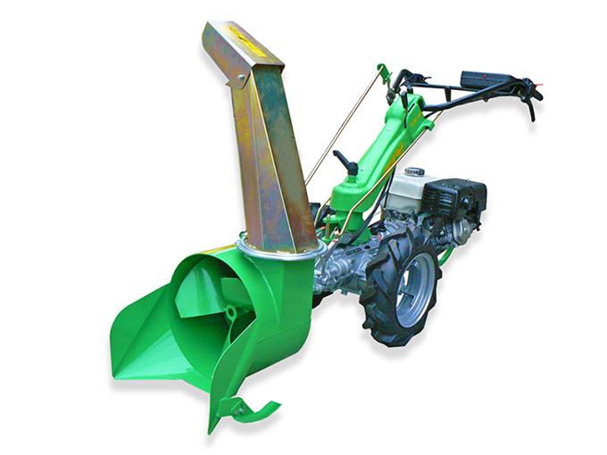 Motocoltivatore-Pony 15-R_con-turbina-neve-a-elica