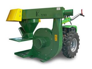 motocoltivatore con raccoglitrice per nocciole | Casorzo Macchine Agricole