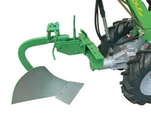 motocoltivatore con aratro monovomere | Casorzo Macchine Agricole