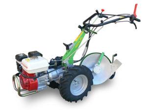 motocoltivatore munito di aratro rotativo a disco | Casorzo Macchine Agricole