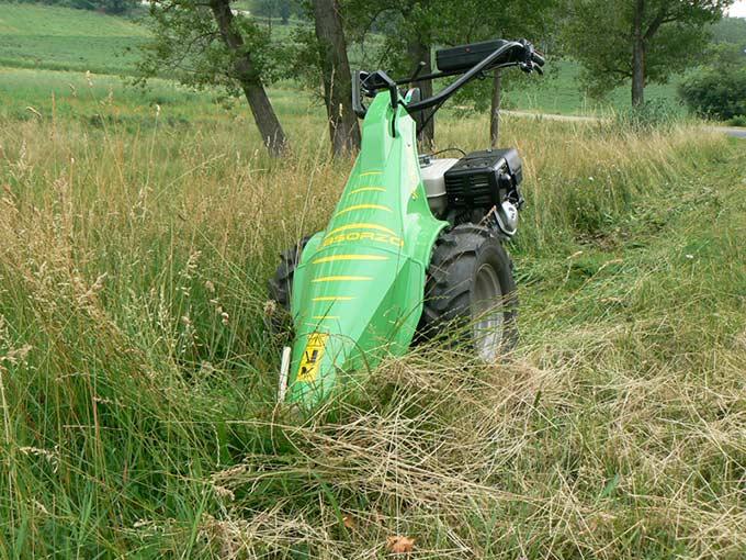 Motofalciatrice P150-R Superior-taglio-fieno