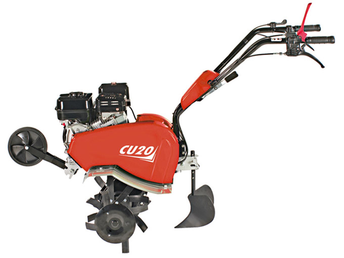 Motozappa CU20 aratro assolcatore rincalzatore with ridger plough