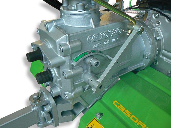 Motozappa CU7 Diesel cambio