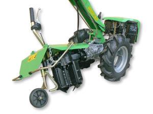 motocoltivatore casorzo con accessorio aratro rotativo reversibile | Casorzo Macchine Agricole srl