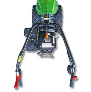 manubrio e comandi della motofalciatrice golf-f | Casorzo Macchine Agricole