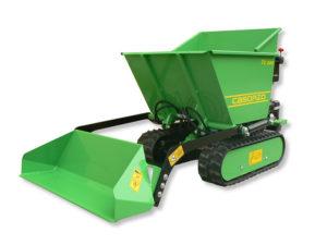 motocarriola idrostatica con pala autocaricante| Casorzo Macchine Agricole