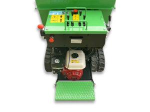 motocarriola idrostatica con pedana operatore e motore Honda| Casorzo Macchine Agricole