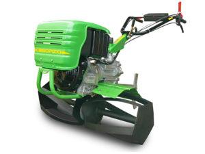 Motozappa professionale Casorzo CU7 con rulli tagliaerba |Casorzo Macchine Agricole srl