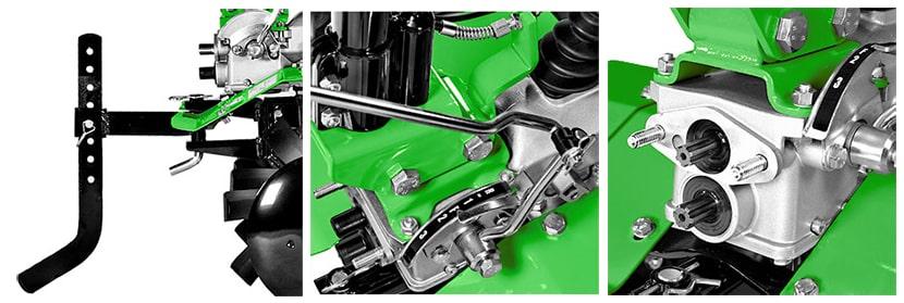 dettagli della motozappa casorzo cu8
